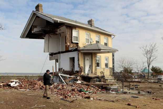 Hurricane Sandy Half House