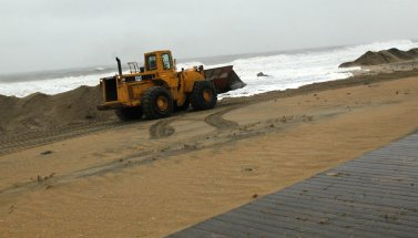 Hurricane Sandy Nor'easter